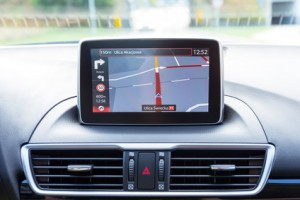 Autoradio mit Navigation Test