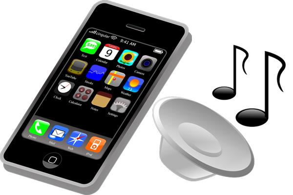 Smartphones mit integriertem MP3-Player